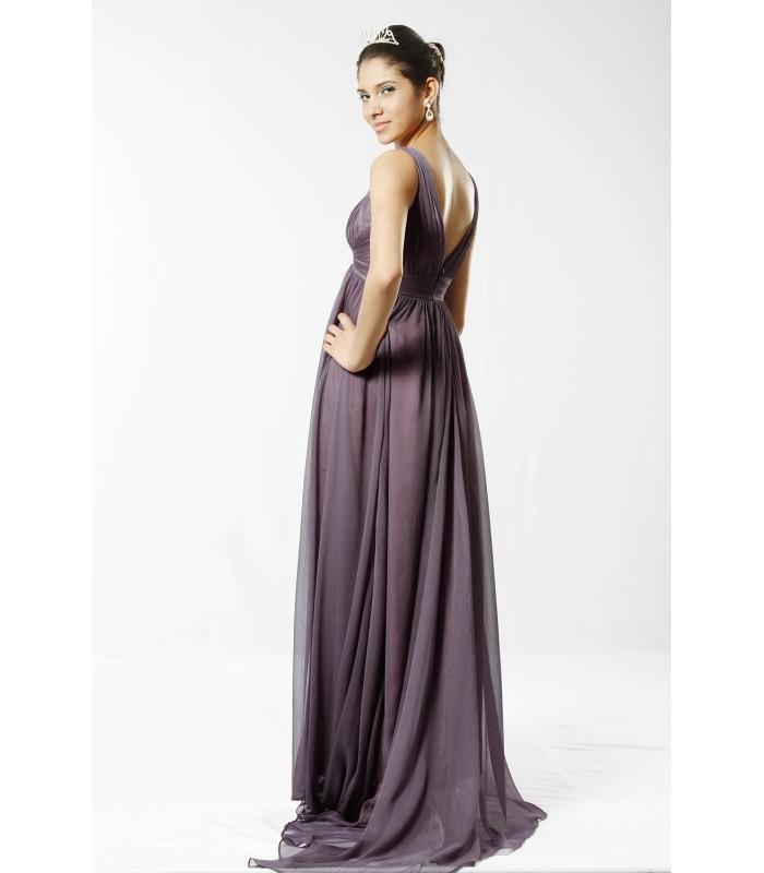 ... Dlhé spoločenské šaty na ramienka 98506. Výpredaj cbe52e8e9a0